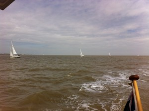 The fleet off Felixstowe