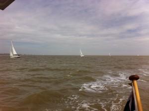 The fleet off Felixstowe