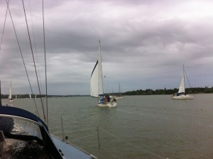 'Sanderling' heading up The Orwell