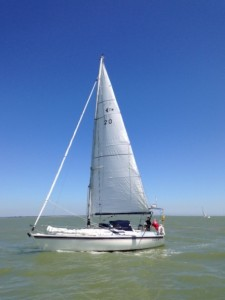 Downwind in to The Blackwater