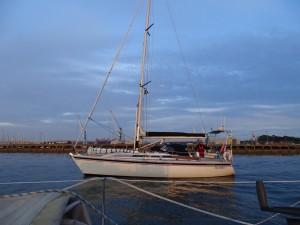 'Talisker 1' leaving Blyth