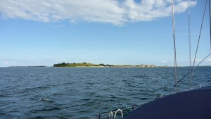 An outlying island off Samso