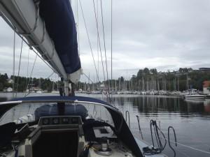Arriving Bergens Seilforening (Sailing Club)