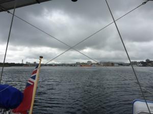 Leaving Stavanger
