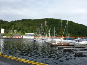 Ergusund Harbour