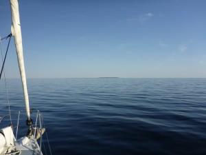 Arnholt Island ahead