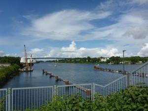 The canal Kiel