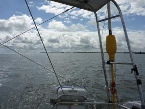 Leaving Cuxhaven
