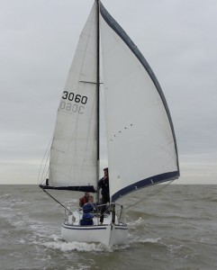 Downwind to Orford from the Orwell