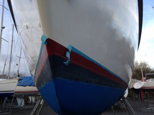 Boot Top, hard antifouling ...