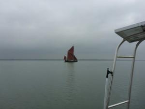 The magnificent Thames Barge 'Centaur'