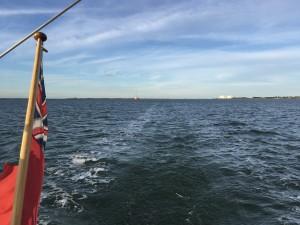 Closing on Osea Island