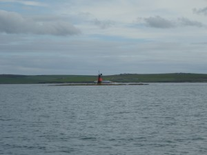 Southern entrance to Scapa Flow