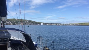 Stromness approaches
