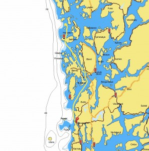 H Island to Haugesund 18th July 51.2 NM