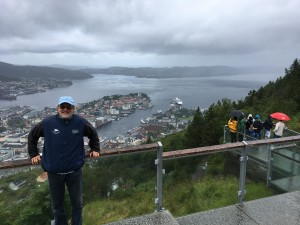 Beautiful Bergen but it IS the wettest city in Europe!