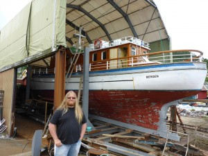 Skips Tomraren Boat Yard