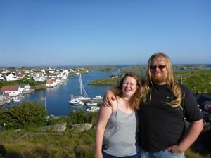 Irene & Geir, Kvitsoy Island