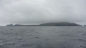 Leaving Fair Isle behind