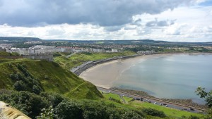 Scarborough North Bay .. the other side of the castle