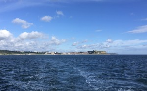 Leaving beautiful Scarborough