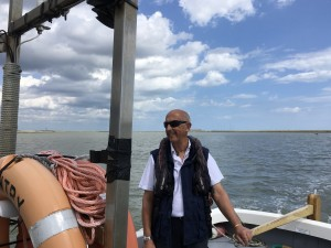 Philip Attwood. Orford Harbour Master.